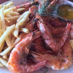 Shrimp - fresh and tasty