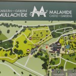 Malahide - the map