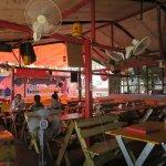 Inside Sayasak Pakpasak Restaurant