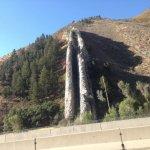 Devil's Slide from I-84 WEST