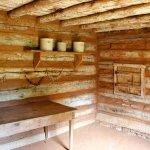 Interior of Slave Cabin/Kitchen