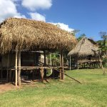 Part of the Embera village