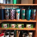 Some very, very cool mugs! Starbucks 10948 100th Avenue   RioCan Centre, Grande Prairie, Alberta