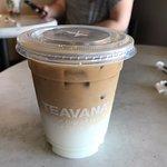 Iced Blonde Machiatto, Starbucks 10948 100th Avenue   RioCan Centre, Grande Prairie, Alberta
