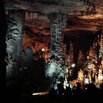 This is the main chamber in the caverns.