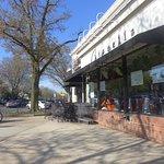 Go past the Citarella Store on Main Street