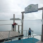 jetty to access Hideaway island