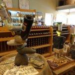 Another shop of the wine shop at Nashoba - interior