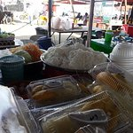 This stall sold pulut durian