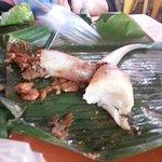 Nasi Tumpang (prawns)