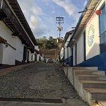 the rocky road in Jaji town