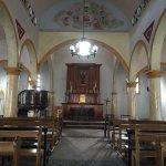 inside the church at Jaji