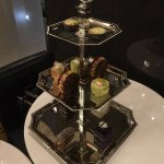 Three tiered afternoon tea for one at The Waiting Room