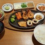 Seafood Steak Set
