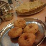 yummy medu vadas from Hotel Sagar