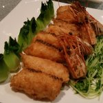 Fish slices with shrimp paste