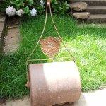 Restored Lawn Roller