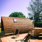 The Big Chief Wigwams with Wood Fired Hot tubs
