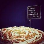 lemon polenta - a customer favourite