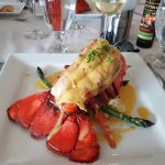 One pound lobster tail - delicious!