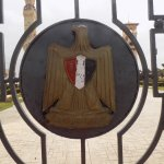 The Palace Gate bearing the Egyptian Coat of Arms