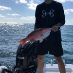 "22"" Red Snapper caught with Captain JB Charters"