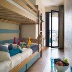 Chambre avec lits superposés (exemple)