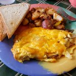 My omelet was fantastic!