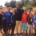 i stopped and hung with some of the kids playing soccer