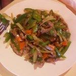 Shredded Pork with Green Pepper
