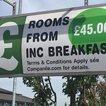 The standard room rate