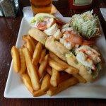 Warm Butter Lobster roll