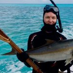 Greater Amberjack Spearfishing Cozumel