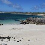 beautifully deserted beach 3 min away