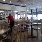 Interior of Beaches Diner