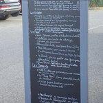 le menu !