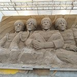 Sand Castle Exhibit Piazza Brescia in Lido di Jesolo
