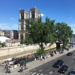 View of Notre Dame Cathedral from my room