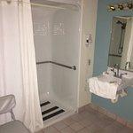 our handicap bathroom, nice and big
