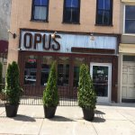 Opus - view from street