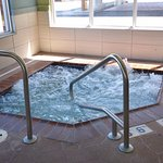 Large Whirlpool in Indoor Pool area