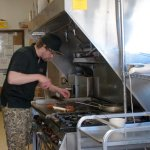 We have a young enthusiastic crew, who enjoy working together and serving great food!