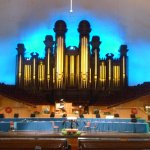 The Tabernacle organ has over 10000 pipes in a building that is an accosical marvel