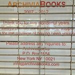 Photo de Archivia Books