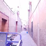 The Riad is right at the end of this road/alleyway!