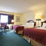 Spacious Guest room offers 2 queen beds, fresh crisp linen for the perfect nights rest