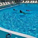 sparkling-clean nice pool