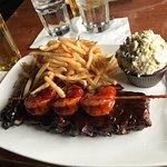ribs & shrimp