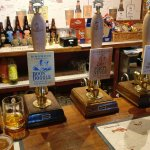 A fine selection of ales!