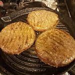 8oz Griddled burgers
